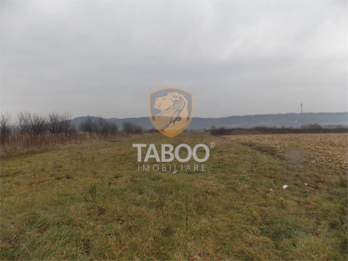 Teren intravilan de vanzare in Sibiu, zona Selimbar. Suprafata terenului 3400 metri patrati, deschidere 20 metri. Pret: 54.400 euro.