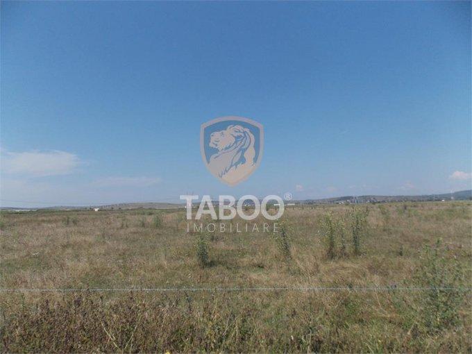 Teren intravilan de vanzare in Sibiu, zona Calea Cisnadiei. Suprafata terenului 16000 metri patrati, deschidere 80 metri. Pret: 176.000 euro.