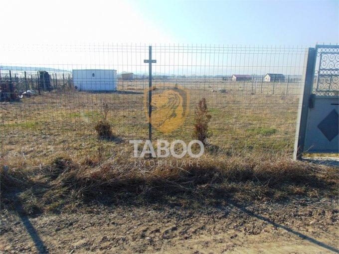 Teren intravilan de vanzare direct de la agentie imobiliara, in Sibiu, zona Selimbar, cu 17.000 euro. Suprafata de teren 560 metri patrati cu deschidere de 21 metri.