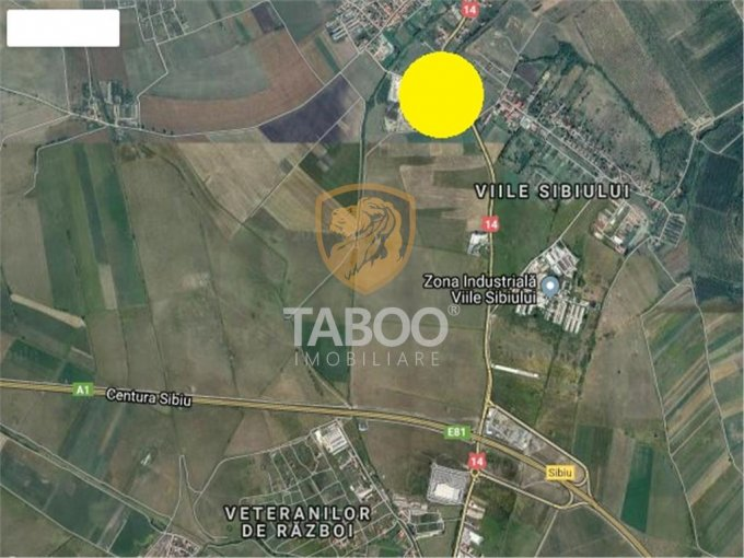 Teren vanzare de 815 metri patrati, intravilan. 35.000 euro. Teren  Sura Mare  Sibiu