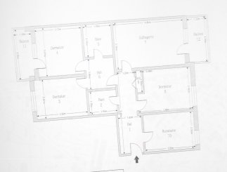 Apartament cu 4 camere de vanzare, confort Lux, zona Burdujeni, Suceava