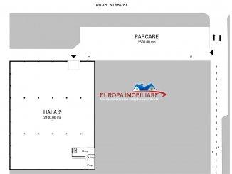 vanzare Spatiu industrial 2100 mp, 3 grupuri sanitare, zona C5, orasul Tulcea