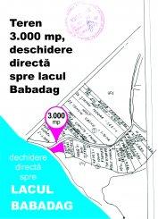 Tulcea Babadag, zona Nord-Est, teren extravilan de vanzare de la agentie imobiliara