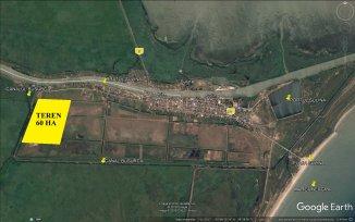 Tulcea Sulina, zona Nord-Vest, teren extravilan de vanzare de la agentie imobiliara
