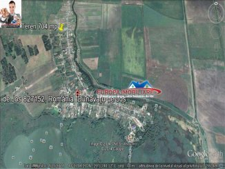vanzare 704 metri patrati teren intravilan, localitatea Dunavatu de Jos