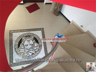 vanzare vila de la agentie imobiliara, cu 1 etaj, 7 camere, in zona Pacii, orasul Tulcea