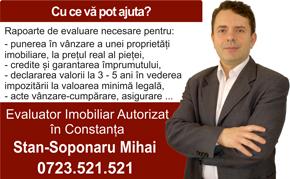 Mihai Stan - evaluator imobiliar Constanta, membru ANEVAR