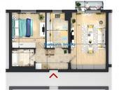 de vanzare apartament cu 2 camere decomandat,  confort 1 in brasov